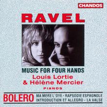 RAVEL: Musica per piano a 4 mani
