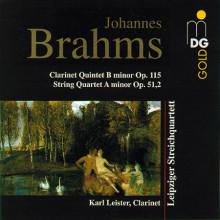 BRAHMS: Clarinet Quintet - Quartet