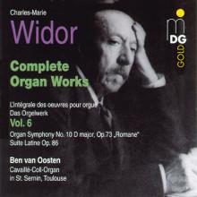 WIDOR: Opere per organo Vol. 6