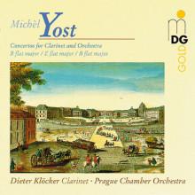 YOST MICHEL: Concerti per clarinetto