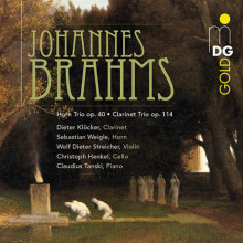 BRAHMS: Horn Trio - Clarinet Trio
