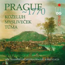 Myslivecek - Tuma - Kozeluh: Prague 1770