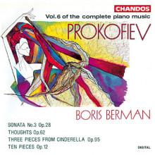 Prokofiev: Musica Per Piano Vol.6