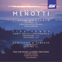 MENOTTI: Opere orchestrali