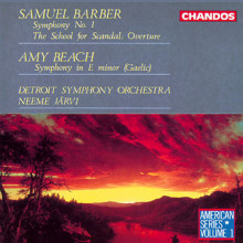 BARBER - BEACH: Sinfonie