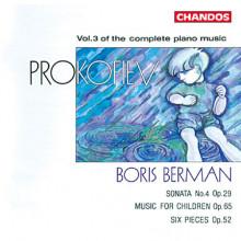 PROKOFIEV: Musica per piano Vol.3