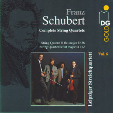 SCHUBERT: Quartetti per archi Vol.6