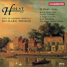 HOLST: Concerto doppio