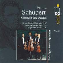 SCHUBERT: Quartetti per archi Vol.5