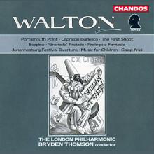 Walton: Opere Orchestrali