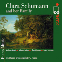 SCHUMANN CLARA: C.Schumann e famiglia