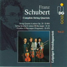 SCHUBERT: Quartetti per archi Vol.2