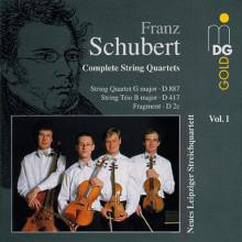 SCHUBERT: Quartetti per archi Vol.1