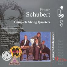 Schubert: Complete String Quartets Vol 1