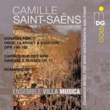 SAINT - SAENS: Chamber Music for Winds and