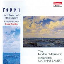 PARRY: Sinfonie NN. 3 & 4