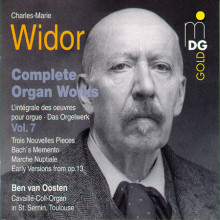 WIDOR: Complete Organ Works Vol. 7