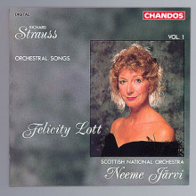 Strauss: Orchestral Songs Vol.1