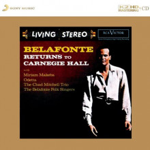 BELAFONTE :  Returns to Carnegie Hall