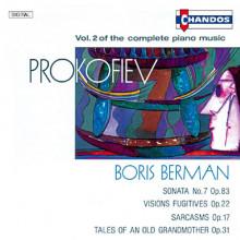 PROKOFIEV: Musica per piano Vol.2