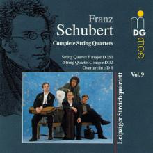 SCHUBERT: Quartetti per archi Vol.9