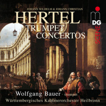 Hertel J.w. & J.c.: Trumpet Concertos