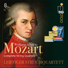 MOZART: Integ. Quartetti per archi (8CD)