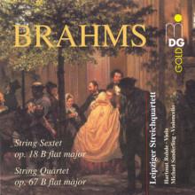 BRAHMS: Sestetto Op.18 - Quartetto Op.67