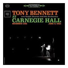 TONY BENNETT: Bennet at Carnegie Hall