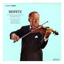 HEIFETZ esegue Rozsa & Britten