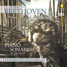 BEETHOVEN: Piano Sonatas op. 109 - 111