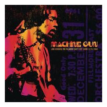 JIMI HENDRIX: Machine Gun: The Fillmore.