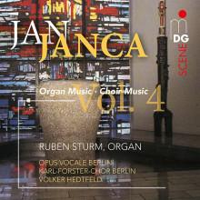 JANCA JAN: Choir and Organ Works Vol. 4