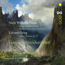 GADE - GRIEG: Quartetti per archi