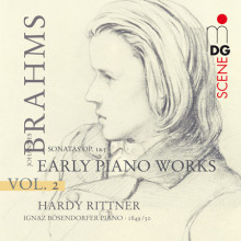 BRAHMS: Early Piano Works Vol. 2