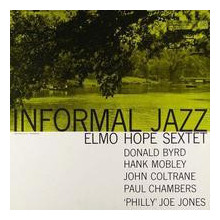 ELMO HOPE SEXTET: Informal jazz