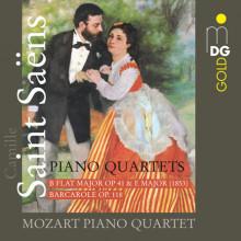 SAINT - SAENS: Piano Quartets