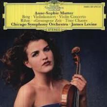 BERG - RIHM: Musica per violino e orchestra
