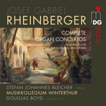RHEINBERGER:Organ Concertos No. 1 & 2 - T