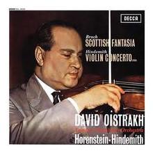 BRUCH - HINDEMITH: Musica per violino