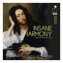 Insane Harmony - Opere Inglesi 1650 - 1700
