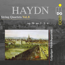 Haydn: Quartetti Per Archi Vol.8