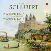 SCHUBERT: Sinfonia N.7 D 759 - N.8 D 944
