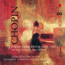 CHOPIN:  Piano Concertos No. 1 - 2 arr. fo