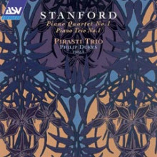 STANFORD: Quartetto e trio per piano