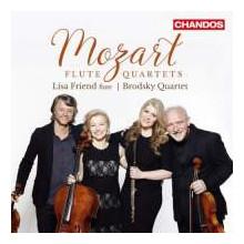 MOZART: Quartetti per flauto