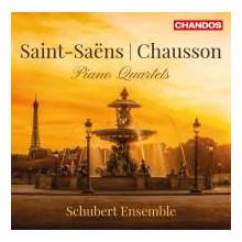 Saint - Saens & Chausson: Quartetti