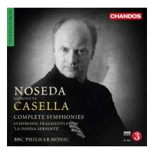 Noseda Dirige Casella - Integrale Sinfonie