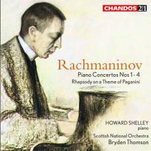 RACHMANINOV: Concerti per piano NN.1 - 4