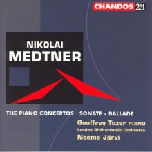 MEDTNER: Concerti per piano NN. 1 - 2 & 3
